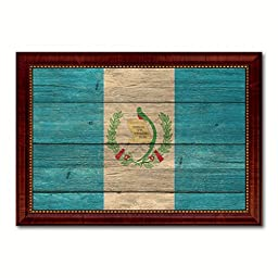 Guatemala National Textured Flag Art Country Custom Picture Frame office Wall Home Decor Gift Ideas, 15\