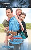 img - for Saved by the Single Dad (Stranded in His Arms) book / textbook / text book