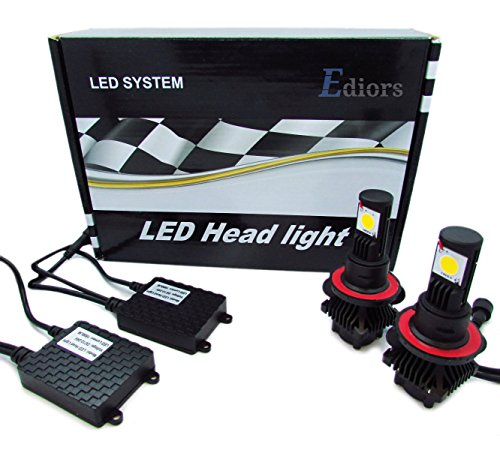 Ediors Ultra Bright High Power 6000K Led Headlight Conversion Kit Cree Cxa1512 Bulbs Replace Hid Halogen Bulb 9005 Hb3 3600Lm 50W