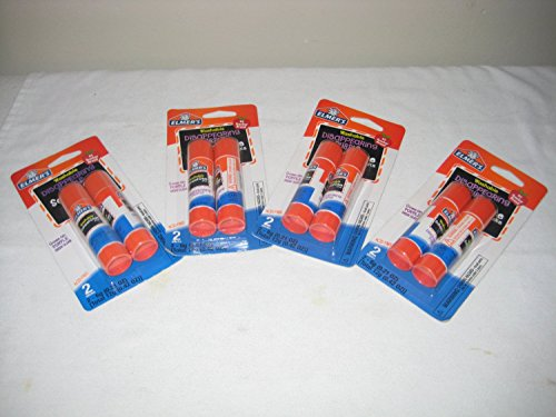 Elmer'S Disappearing Purple School Glue Sticks, 0.21 Oz Each, 2 Sticks Per Pack (4 Pack) front-299876