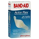Band Aid Activ-Flex Adhesive Bandages, Regular Size, 10 bandages