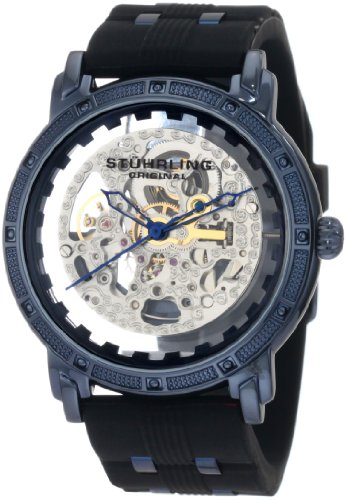 Stuhrling Original Men's 165C.33X62 Lifestyles Winchester Cavalier Automatic Skeleton Black Watch