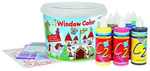 Hobby Line 40155 - Kinder-Bastelset - Window Color C2, Power Pack