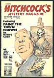 "Alfred Hitchcocks Mystery Magazine, September 1978; Featuring ""Paint the Town Brown"" (Volume 23, No. 9)"