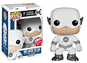 DC Universe Pop! Vinyl Figure White Lantern: The Flash [Fugitive Toys Exclusive]