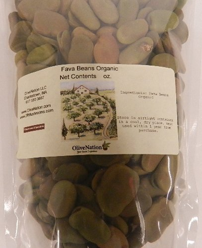 Organic Fava Beans 5 Lbs By Olivenation