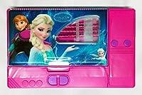 Kiku Gadget Pencil Box Best Quality--Jumbo Pencil Box---Kids Multi Purpose Pencil Box (Frozen)