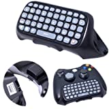 VicTsing® Black Controller Messenger Keyboard Keypad Game Chatpad for Microsoft Xbox 360 Live Wireless Controller