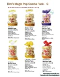 Kim&#8217;s Magic Pop Combo Pack C 12-pack: Freshly Popped Rice Cakes, Healthy Grain Snack, 0 Weight Watchers Point, Free Shipping