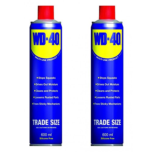 2-can-wd40-penetrant-lubricant-releasant-cleaner-oil-600ml-wd-40-44010-x-2-new