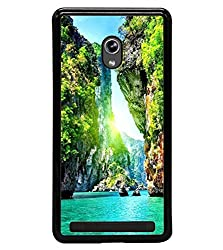 Droit 2D Printed Designer Back Case Cover for Asus Zenfone 5 + 3D F1 Screen Magnifier + 3D Video Screen Amplifier Eyes Protection Enlarged Expander by DROIT Store.