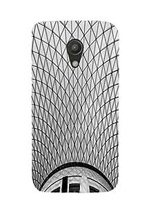 Bagsfull Designer Printed Hard Matte Back Cover Case Motorola Moto G (2nd Gen)
