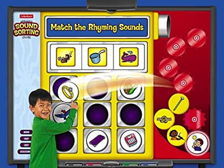 Interactive Rhyming Sounds Game