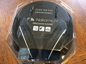 Nakamichi Over The Ear Headphones NK780 Black Red