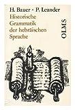 img - for Historische Grammatik Der Hebraischen Sprache Des Alten testamentes; Olms Paperbacks Band 19. vol. 1 Only, Einleitung - Schriftlehre - Laut- Und Formenlehre book / textbook / text book