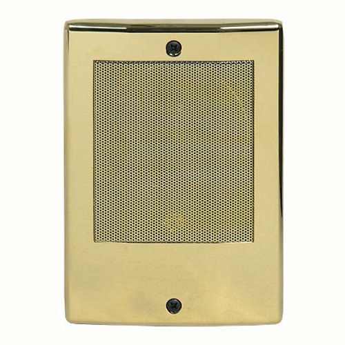 M&S Systems Dmc Intercom Door Station, Bright Brass