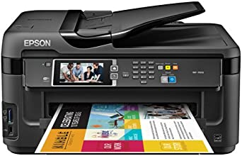 Epson WorkForce WF-7610 Wireless Color All-in-One Inkjet Printer with Scanner and Copier