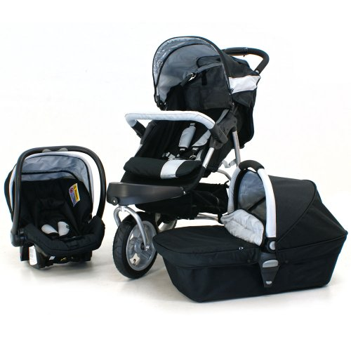 Petite Star Extreme Charisma Pushchair Travel system inc car seat, raincover and CARRY COT