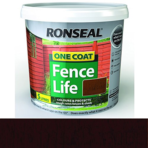 ronseal-rslfldo4lav-4-litre-one-coat-fencelife-paint-dark-oak