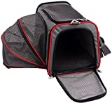 Petsfit 16x9x9 Inches Comfort Expandable Foldable Travel Dogs Carriers Pet Carrier Soft-sided