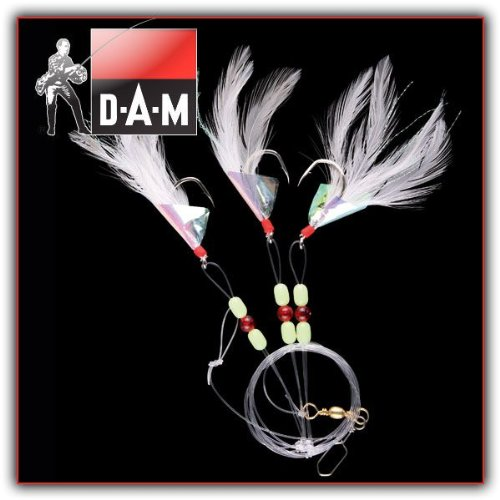 DAM Steelpower Red - Dorsch, Seelachs, Pollack - Weiß