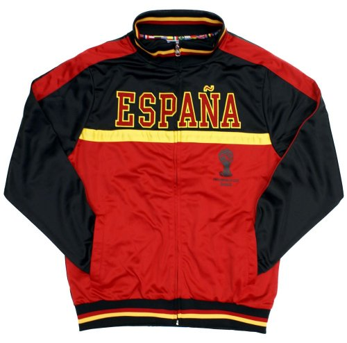 2014 Fifa World Cup: 2014 FIFA World Cup Brazil Espana Spain Track Jacket FIFA0058