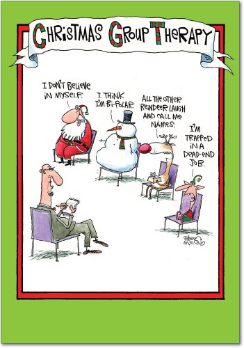 Set of 12 Group Therapy Christmas Cards