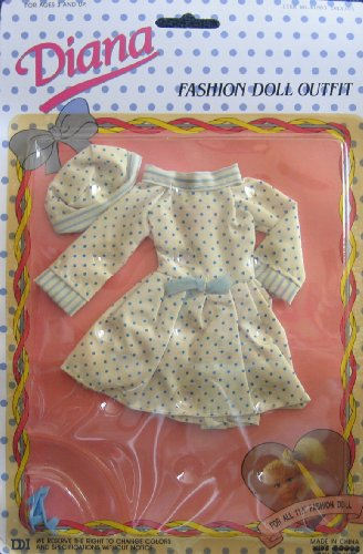 Candy Fashion Doll Circa 1960 Diana Fashion Doll Outfit Fits