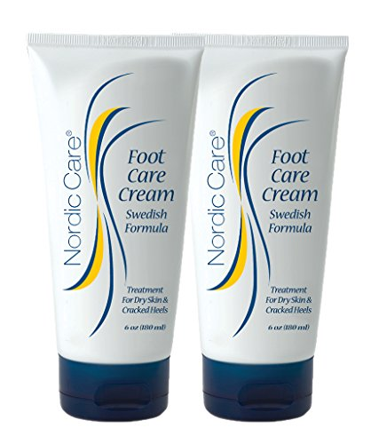 Nordic Care Foot Care Cream 6 oz. (Pack of 2) Health Beauty Personal