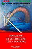img - for Migration et Litt rature de la diaspora (French Edition) book / textbook / text book