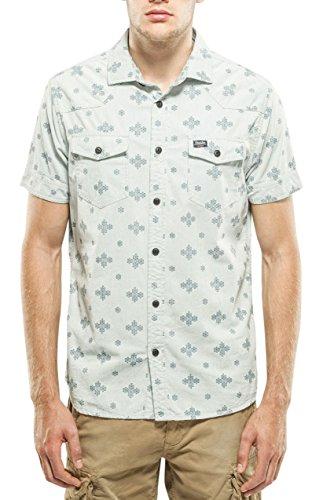 Petrol Industries Shirt SS, Camicia a Maniche Corte Uomo, 501, M