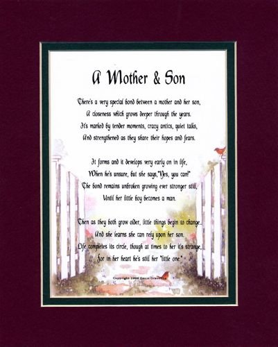 Mother Son Poem