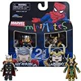 Marvel Minimates Series 33 Mini Figure 2Pack Thor &amp; Loki
