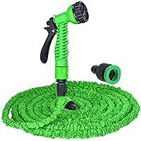 Expandable Flexible Garden Water Hose Pipe With Spray Nozzle Gun 50 75 100 125FT