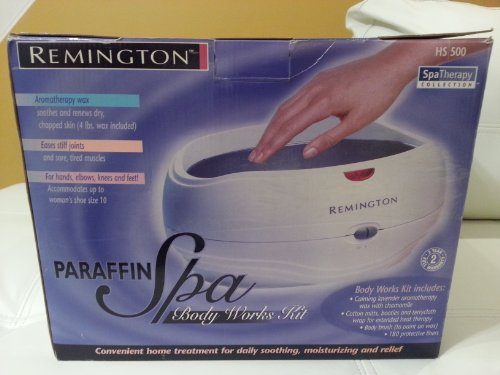 Remington HS-500 Full-Size Paraffin Spa Body Works Kit for Hands and Feet Reviews