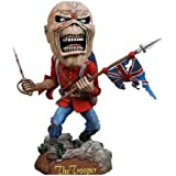 Neca Iron Maiden Eddie Trooper Head Knocker Bobble Head 8""