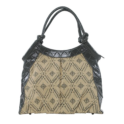 Amykathryn Tulip Shoulder Style Diaper Bag - Grey - 1