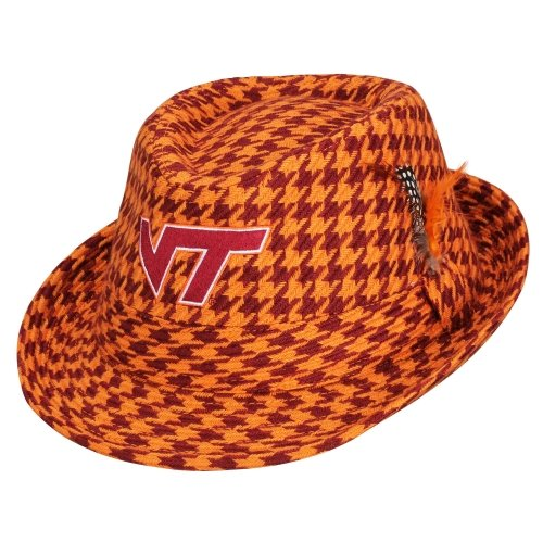 Honour Society Virginia Tech Hokies Original Fedora OrangeMaroon by FansEdge