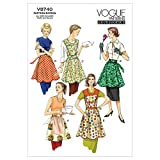 Vogue Patterns V8740 Aprons, All Sizes