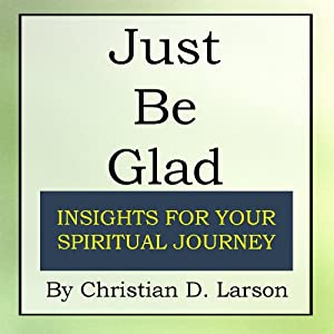 Just Be Glad Audiobook