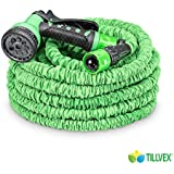 flexiSchlauch - flexibler Gartenschlauch 30m ausgedehnt