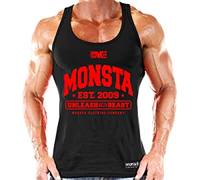 Monsta Clothing Co. Men's MONSTA-est209-UTB-(TNK-236) Tank Top
