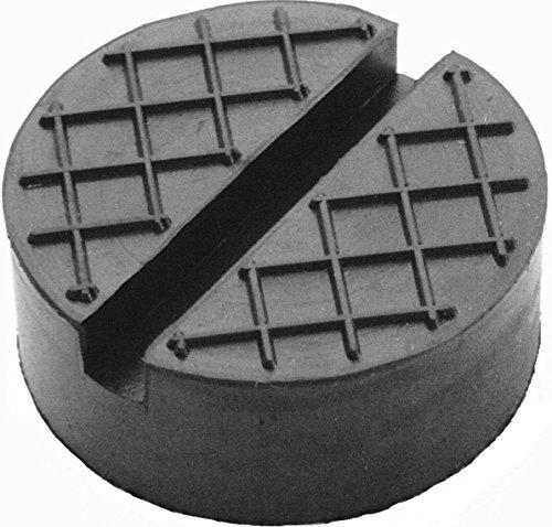Gummiauflage-d65x25mm-mit-Nut-Waffel-fr-Wagenheber-und-Hebebhnen