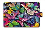 For Apple iPad Air Case Leather iPad 5 Folio Case Multi Smart Cover - Color Butterflies a-43522