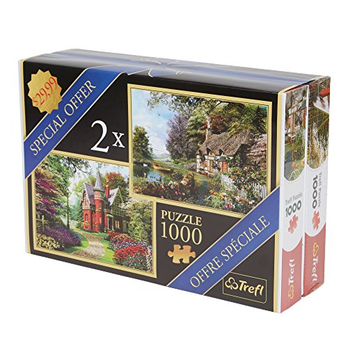 Trefl-Victorian-Houses-Puzzle-2000-Piece