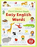Easy English Words (Usborne First Sticker Books)