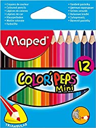 Maped Mini Color Peps Wax Crayons