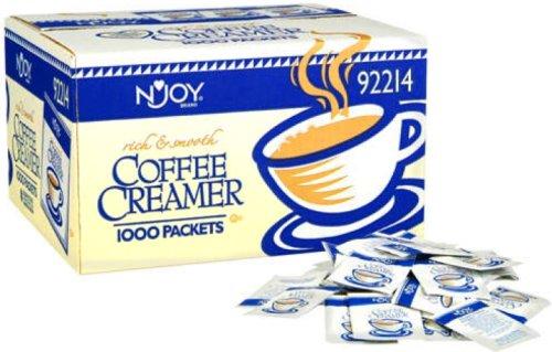 N'Joy Nondairy Coffee Creamer Packets - 1,000/2.5G