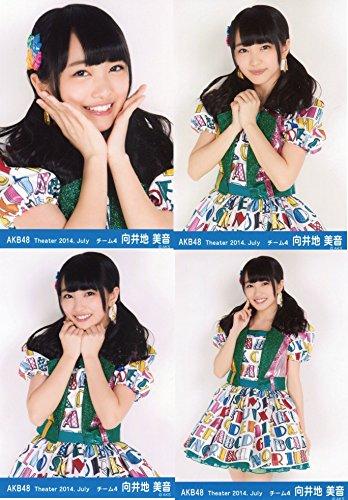 AKB48 公式生写真 Theater 2014.July 月別07月 【向井地美音】 4枚コンプ