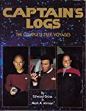 img - for Captain's Logs: The Complete Trek Voyages book / textbook / text book